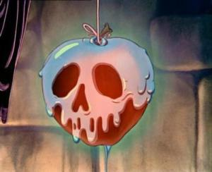 The-poisoned-apple-from-snow-white-and-the-seven-dwarfs